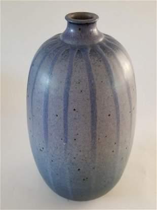 Mieiji Era Lobed Melon Vase
