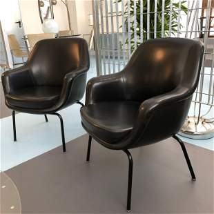 Pair of Olli Mannermaa Armchairs by Cassina, Italy,