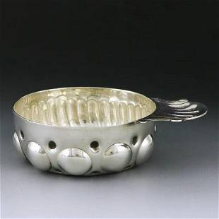 19th century French rococo sterling silver tasting