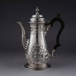 Scottish sterling silver jug