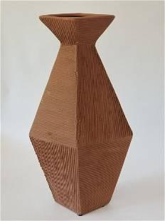 Mid Century Italian Abstract Modern Pottery Vase