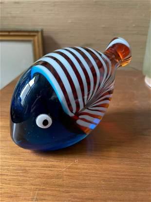 Cased Glass Fish