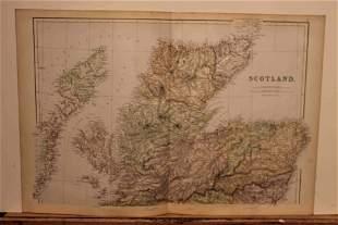 1882 Maps of Scotland