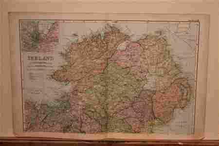 1882 Map of Ireland