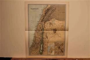 1873 Map of Palestine