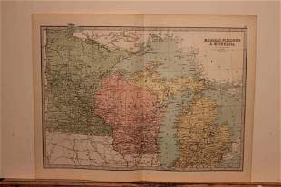 1873 Map of the US
