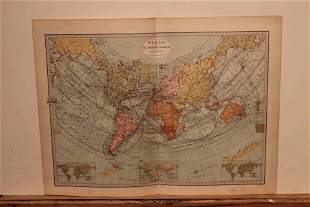 1873 World Map