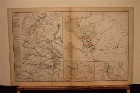 1893 Civil War Map