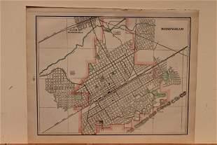 1901 Map of Birmingham