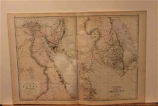 1882 Map of Egypt