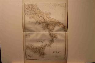 1882 Map of Sicilly