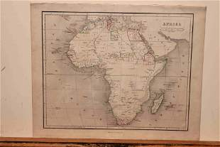 1859 Map of Africa