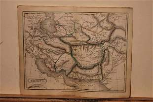 1828 Map of Ancient Middle East