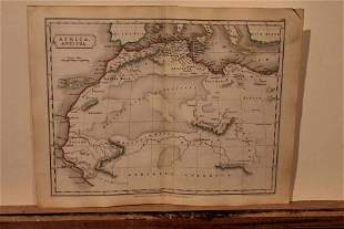 1801 Map of Ancient Africa