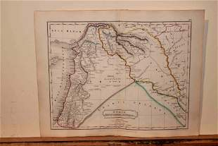 1801 Map of the Persian Empire