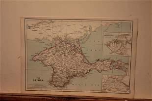 1882 Map of Crimea