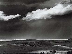 ANSEL ADAMS - The Great Plains from Cimarron, 1961