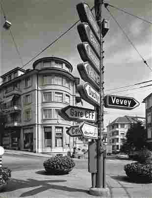 GABRIELE BASILICO - Lausanne, 1987