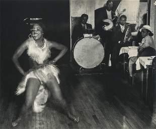 BRASSAI - Dancer Gisele, Montparnasse, Paris, 1932