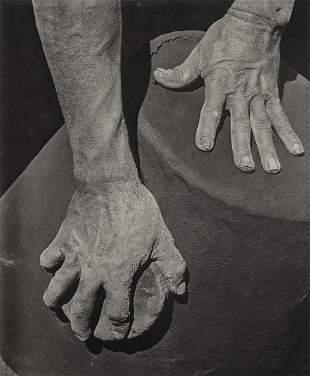 ANTON BRUEHL - Hands of the Potter, 1933