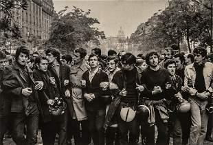 HENRI CARTIER-BRESSON - Student Demonstrations,1968