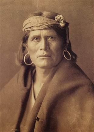 EDWARD CURTIS - A Walpi Man, 1903