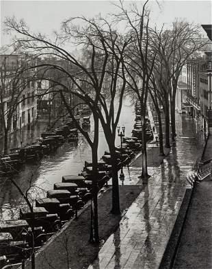 WALKER EVANS - Main Street, Saratoga Springs, 1931