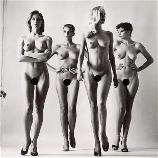 HELMUT NEWTON - They Are Coming