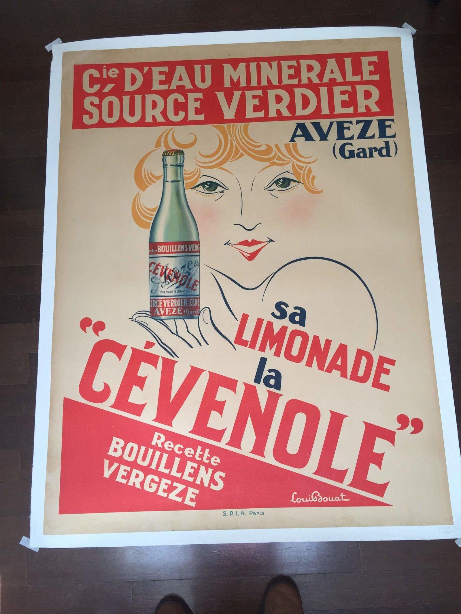 Sa Limonade la Cevenole - Art by Louis Bouat (1931)