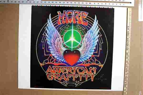 """More American Graffiti (1973) 14.5"""" x 21"""" US Printers"""