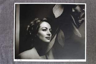 Joan Crawford by George Hurrell - Hurrell Portfolio III