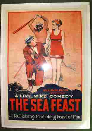 The Sea Feast (1929) US 1SH Movie Poster LB