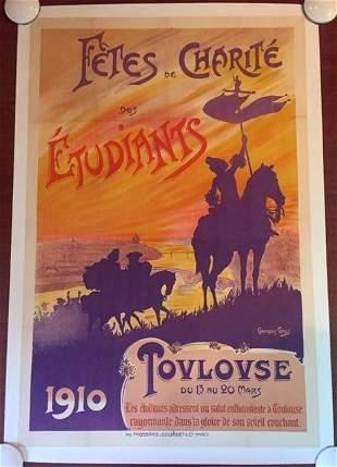 Fetes De Charite Des Etudiants - Don Quixote (1910)