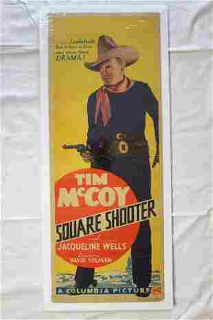 Square Shooter (USA, 1935) Insert Movie Poster