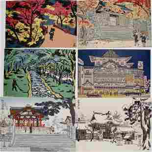 Ito Nisaburô: Six postcards