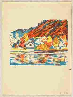 Nakamura: Lake in Autumn
