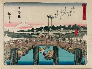 Utagawa HIROSHIGE I: Fifty-three stations of the