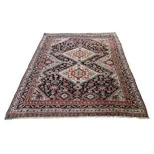Antique Persian Kachukai Ever Wear Pure Wool