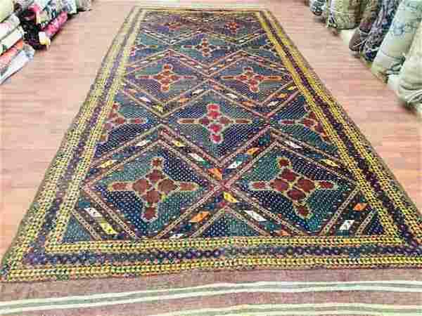 Antique Turkoman Beshir Gallery Size-1701