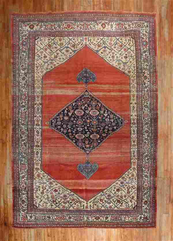 19th Century Persian Bidjar Room Size Rug
