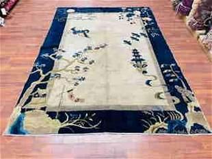 Antique Chinese Pekking Rug-4792