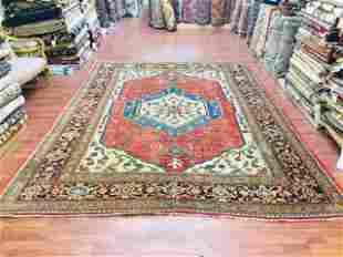 Antique Persian Mahal Room size Rug-1204