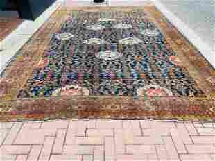 Antique Persian large size Sultanabad Rug-3095