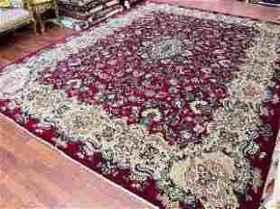 Antique Persian Mahal Rug-4795
