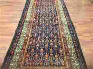 1920,Antique Persian Malayer Runner, excellent-4745