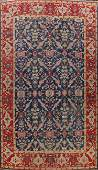 Pre-1900 Antique Vegetable Dye Oushak Persian Area Rug