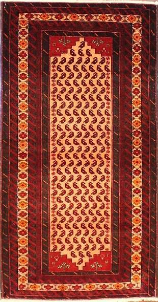 Authentic Persian Baluchi 3.4x5.10