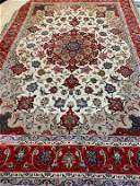 Hand Knotted Persian Tabriz 4x7 ft