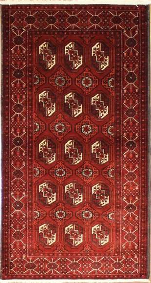 Authentic Persian Baluchi 6.4x3.5