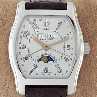 Gustav Becker - Triple Date Moon Phase Automatic - Ref: